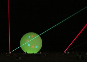 Summer's Final Laser Shows Set For This Weekend; Saturday And Sunday Evening Displays Planned On Beach