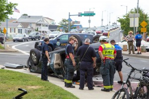 NEW FOR WEDNESDAY: Seat Belt Use Credited For Saving Lives In Downtown Accident