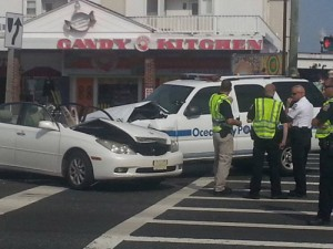 Another OCPD Vehicle In Accident