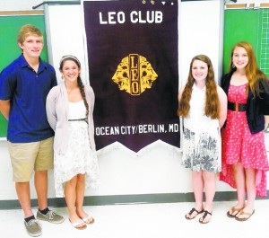 New Leo Club Leaders