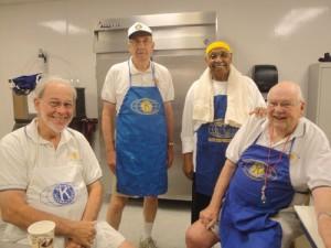 Kiwanis Club Of Greater Ocean Pines-Ocean City's July 13 Pancake Breakfast A Full House