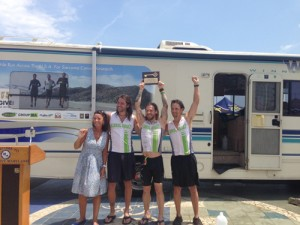 Cross-Country Journey Ends In OC, Raises $100K For Sarcoma Cancer Research