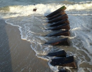 Recovered Shipwreck Found In Assateague Surf; Officials Report It's Discovered 'On A Regular Basis'