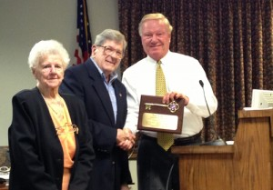 25-Year OC Planning Commission Member Honored