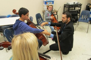 Berlin Intermediate Orchestra And Band Students Get Opportunity To Participate In Masters Classes Taught By Mid-Atlantic Symphony Orchestra