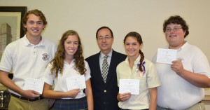 Worcester Prep Students Named Commended Students In 2014 National Merit Scholarship Program