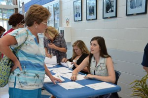 SD High Holds Back To School Night