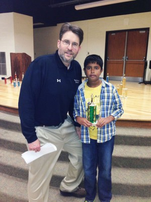 Worcester Prep, Pranay Sanwal, Congratulated By MD/D.C. Chess Association