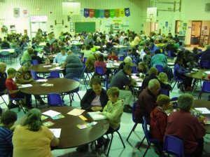 Buckingham Elementary Holds Annual Golden Grahams With Grandparents Event