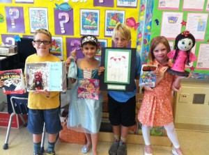 Second Graders At OC Elementary Create Character Book Reports