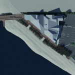 The new downtown Buccaneer's Cave at Shipwreck Cove is shown in a rendering by Iott Architecture