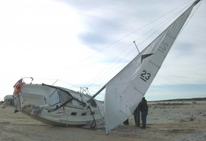 Boat Grounded On Assateague On New York-Florida Voyage; Captain In Middle Of Solo Trip