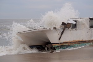 Story Behind 'Ghost Ship' Confirmed; It Was Cut Loose Offshore On Way From Jersey To South Carolina