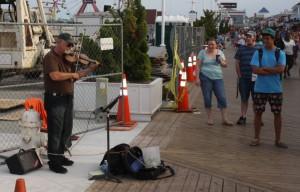 Ocean City Settles Busker Lawsuit; Violinist To Receive $21K In Damages