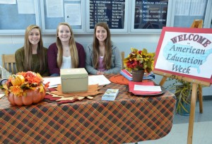 Stephen Decatur High School Future Educators Of America Members Serve As Greeters During American Education