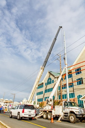 Visual Concerns With Resort Utility Pole Project Expressed