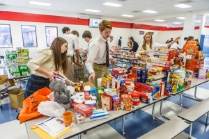 Students Rally For Community's Needy In Annual Holiday Effort