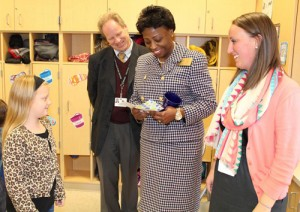 State Superintendent Visits OC Elementary School During American Education Week