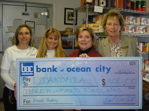 Bank Of OC Drop-Off Spot For Diakonia Food Pantry Drive