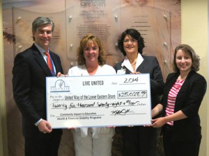 United Way Recognizes AGH Employees For Their Contributions
