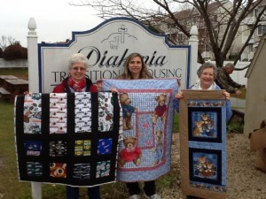 Quilters By The Sea Donated Themed Quilts To Diakonia