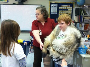 Showell Elementary Third Graders Learn How Wolves Stay Warm