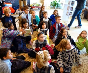 First-Grade Students Enjoyed Their Day Traveling Through Berlin