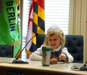 Worcester Prep First Grader Takes Over As Mayor Of Berlin