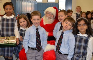 Worcester Prep Lower School Students Give Presents To Less Fortunate Children
