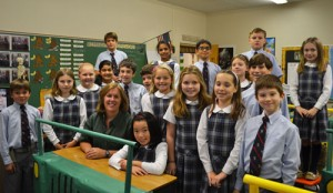 Worcester Prep Fourth Grade Class Takes Virtual Safari Tour