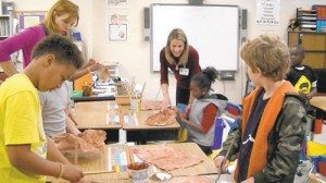 Buckingham Elementary School Fourth Graders Participated In Arts Immersion Lesson