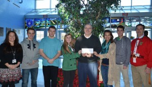 Stephen Decatur High School National Honor Society Presents Annual Donation To Believe In Tomorrow