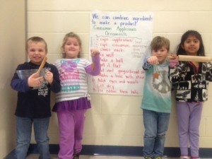 Ocean City Elementary Kindergarten Class Follow Recipe To Make Applesauce Cinnamon Ornaments