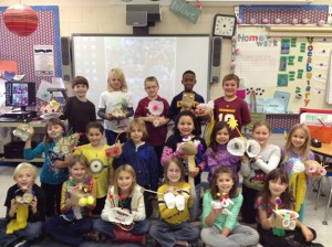 "Third Graders At Showell Elementary School ""Fashion A Fish"""