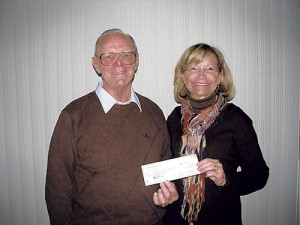 OC Lions Club Presents Check To Help Beach Blanket Blood Drive