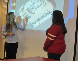 Tech School Students Present ER Waiting Area Designs