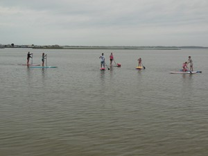 One-Month SUP Ocean Program Advances To Council