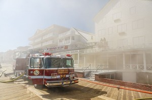 Boardwalk Hotel Damaged By Fire Gearing Up For Summer