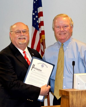 Ocean City Recognizes Retiring Recreation Director