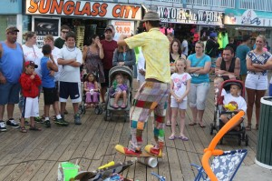 In Light Of Federal Court Ruling, OCPD 'To Tread Lightly' With Boardwalk Street Performers This Summer