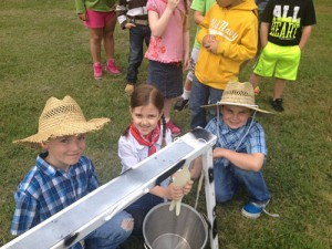 "OC Elementary First Grade Students Participate In ""Down On The Farm"" Program"