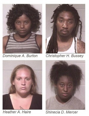 Citizen's Tip Leads To Five Burglary, Theft Arrests