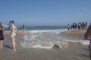Bertha Brings Tidal Pools, Shore Break To Resort