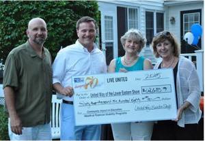 Untied Way Receives $62,680 Contribution