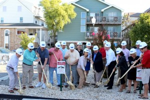 Construction On New Ocean City Beach Patrol Home Begins
