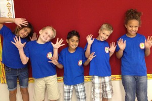 Showell Elementary Third Grade Students Show Off Their School Pride