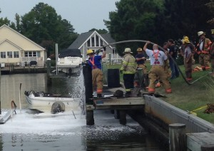 Five Injured Aboard Boat After 'Intense Fire' In Ocean Pines