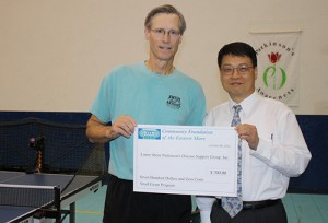 Community Foundation Of The Eastern Shore Contributes $700 To Lower Shore Parkinson's Support Group