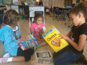 OC Elementary Second Grade Class Work On Health Literacy Unit