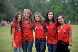 Worcester Prep Students Enjoy Red, White And Blue Spirit Day